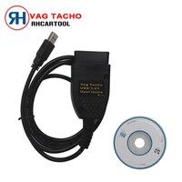 Лидер продаж 2017 года vag О 'кей 3.01 для VW AUDI + USB читателя подушка безопасности ИММО для Opel OBD2 подушка безопасности сканер VAG TACHO пробег инструмен...
