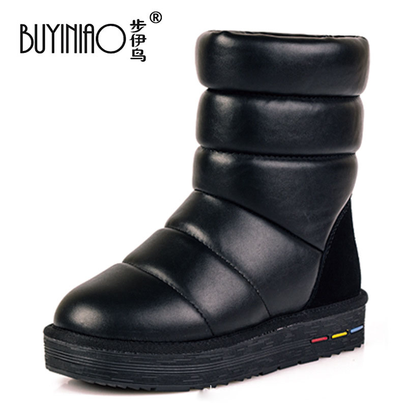 fashion snow boots top quality winter boots 2016 new