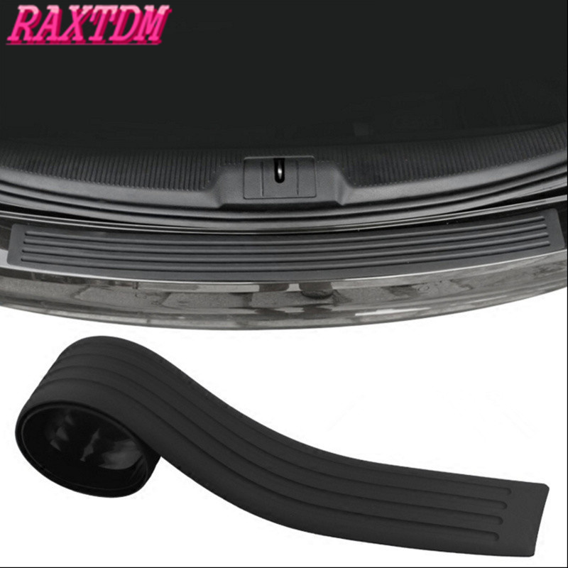New Rubber Rear Guard Bumper Protector Trim Cover For Toyota RAV4 Camry Corolla Prado Yari Prius