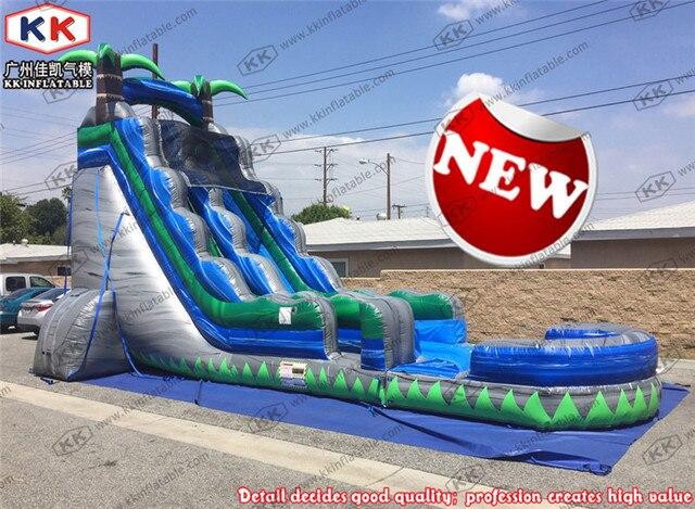 piscine gonflable vague