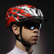 Catazer S5Q Cycling Meshed Ventilate Adult Bicycle Bike Adjustable Helmet Protecter red white blue Multi 4 colors