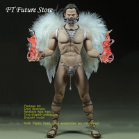 Free Shipping 1/6 Scale Male Figure Clothes Set Devil Angel Suit Model for 12 Phicen M34 Male Muscular Action Figure Body
