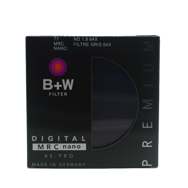 B W 810 ND 64 77mm MRC Ultra Thin Neutral Density 6 Stop for Camera ND