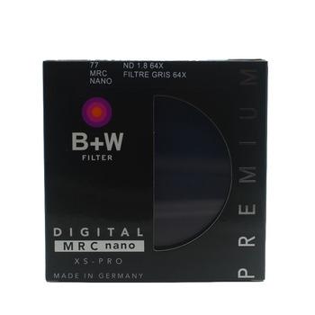 B + W 810 ND 64 77mm MRC Ultra cienka neutralna gęstość 6 Stop dla kamery ND 64 67 72 77 82 tanie i dobre opinie OUTMIX ND 810 64X