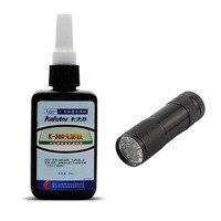 50ml Kafuter UV Glue UV Curing Adhesive K 300 Transparent Crystal And Glass Adhesive With UV