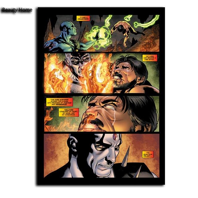 Mortal Kombat X Comic Book Canvas Painting Oil Painting Wall ...