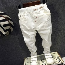 222b5c7f61 Buy white boy pants and get free shipping on AliExpress.com