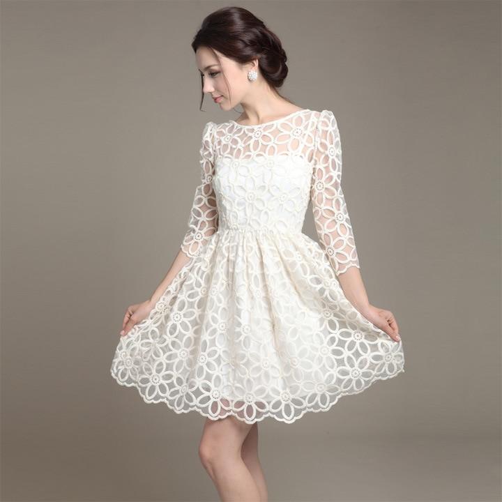 Aliexpress.com : Buy New Spring Autumn Woman Korean Cute White O ...