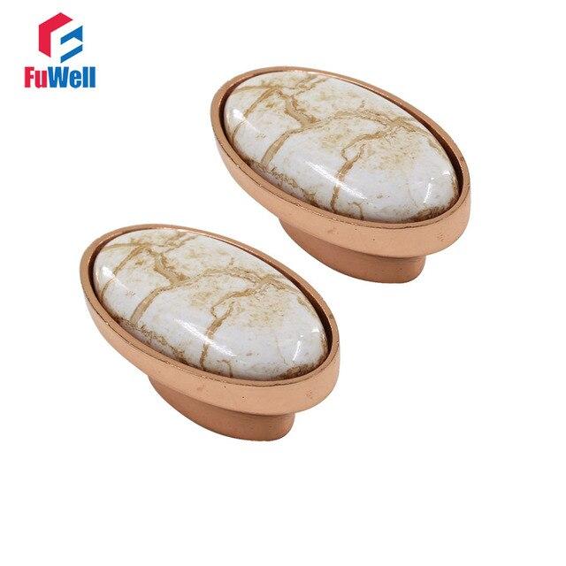 2 pz Mobili Pomelli e Maniglie In Ceramica Porcellana Manopole per ...