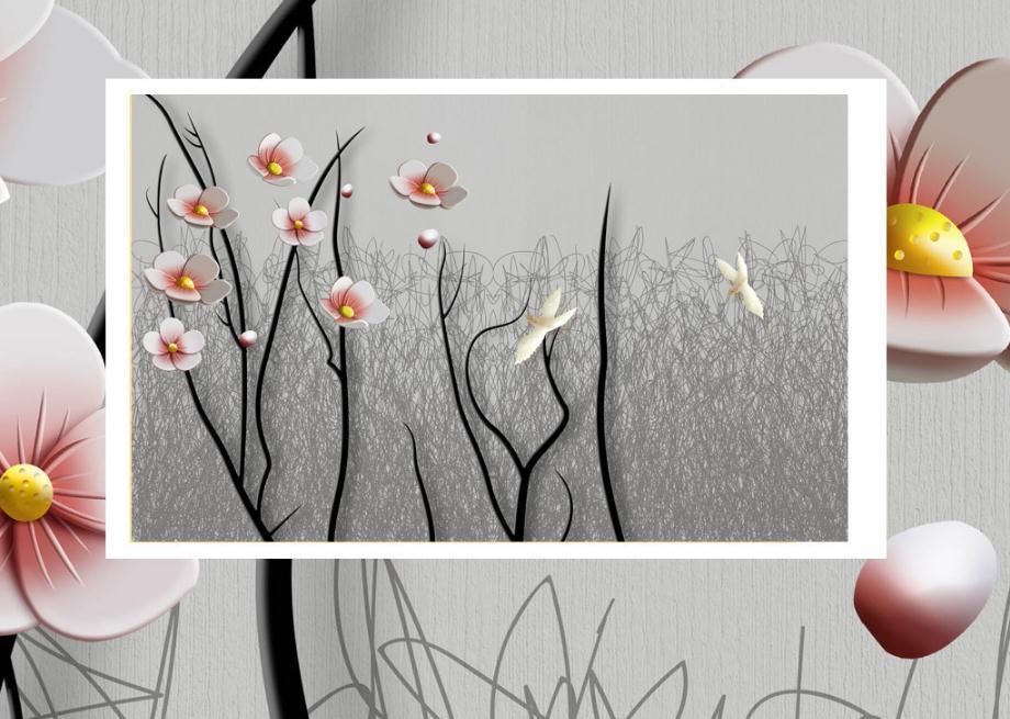 living room decor desktop custom 3 d stereo modern wallpaper background wall murals house wallpaper black and white wall mural
