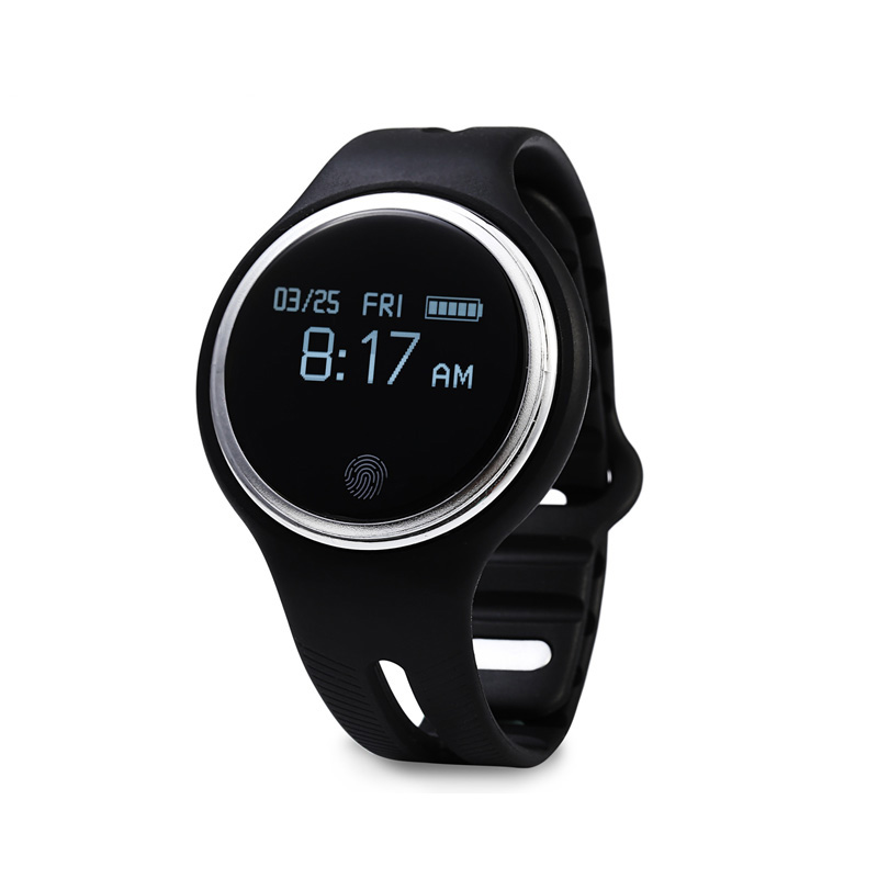 HotSelling E07 Smart Watch Bluetooth 4.0 Sleep Tracker Waterproof Anti-lost Answering Phone Sport Watch for iphone7 Mobile phone