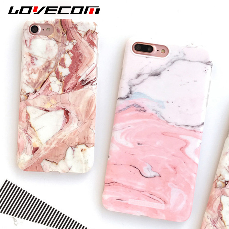 Light Pink Marble : Light pink marble stone pattern soft silicon phone cases