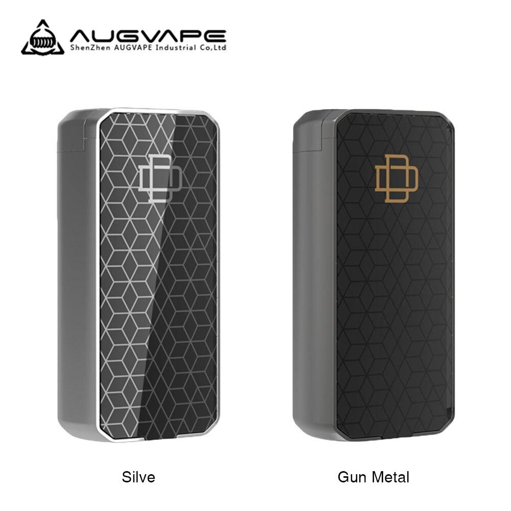 Augvape Druga Foxy caja Mod de liberación rápida patente 150 W No batería 18650 VV Mod pantalla OLED resistencia cigarrillo electrónico mod