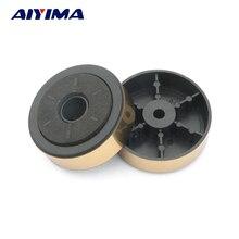 AIYIMA 12 sztuk złota wzmacniacz wkładka do buta amortyzacja szekle tłumiące głośniki audio wzmacniacz maszyna stopy podwozie Shock