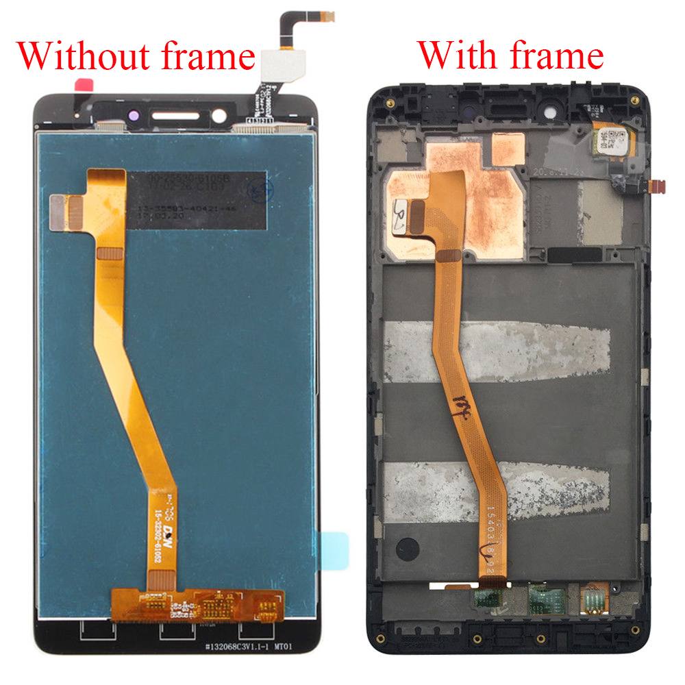 Cellphones & Telecommunications Mobile Phone Parts Touch Screen Digitizer Sensor Panel Glass Assembly 100% Quality For Lenovo K6 Note K53a48 Lcd Display Monitor Module Lcd Panel