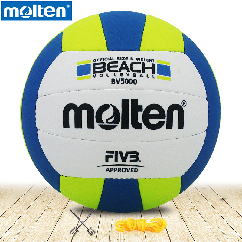 original molten volleyball BV5000 NEW Brand High Quality Genuine Molten PU Material Official Size 5 volleyball top quality 2016 new arrival unisex official weight and size 5 pu volleyball indoor