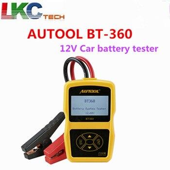 AUTOOL BT-360 BT 360 12 V Tester Batteria Auto 2000CCA 220AH Multi-Language Sistema di Ricarica Della Batteria Tester