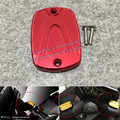 T-MAX TMAX530 TMAX500 CNC Motorcycle Brake Fluid Reservoir Cap Cover  red Free shipping