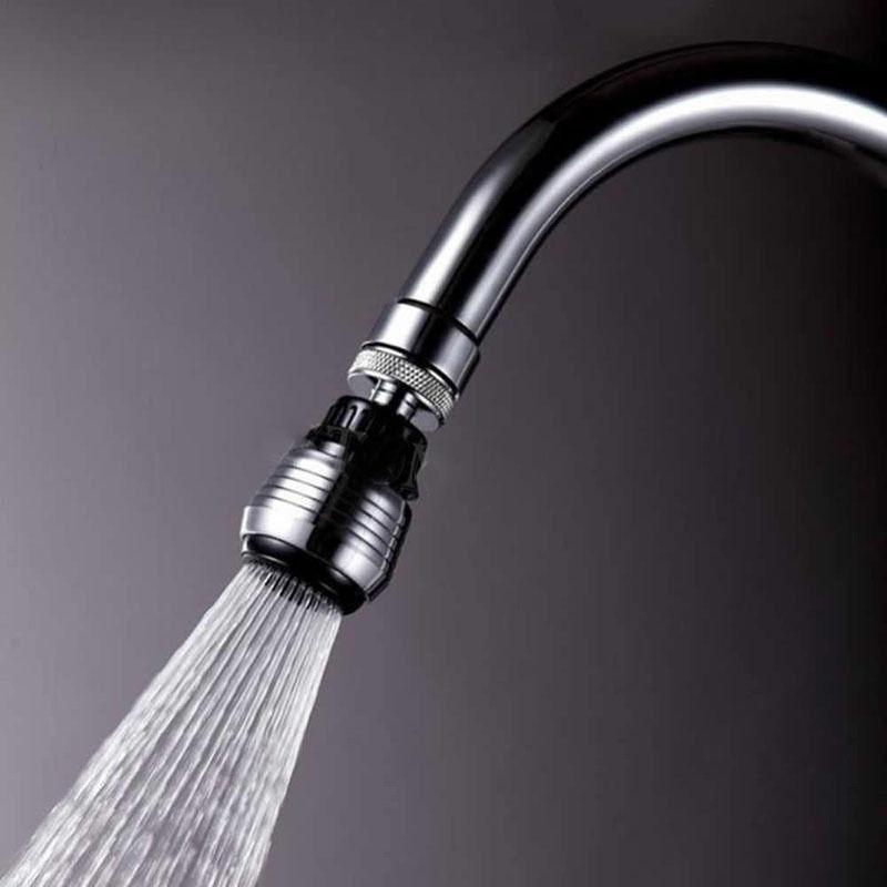 360 döndür su tasarrufu musluk banyo mutfak musluk aksesuarları mikserler ve musluklar havalandırıcı memesi filtresi