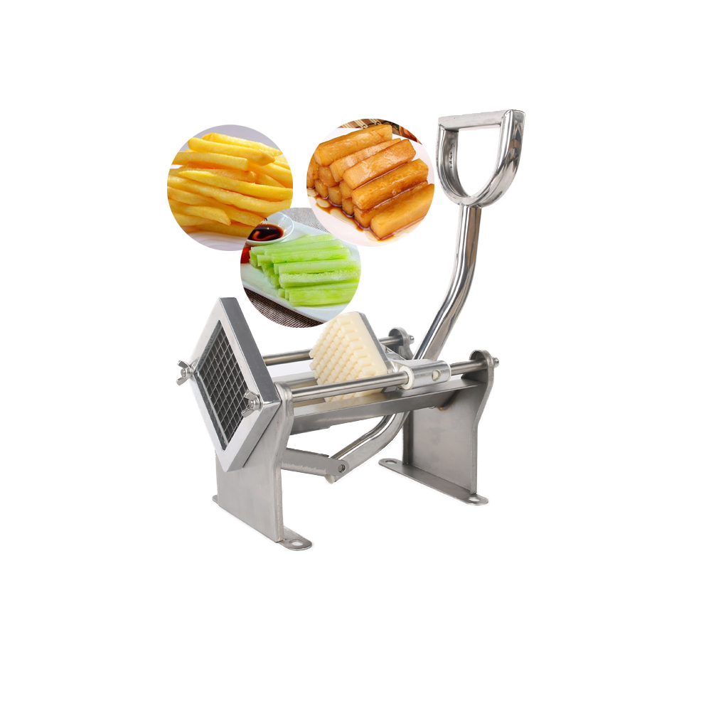 GZZT ручной резак для картофеля фри из нержавеющей стали MH005 для изготовления картофельных чипсов, овощерезка для фруктов, кухонные инструмен... - 3