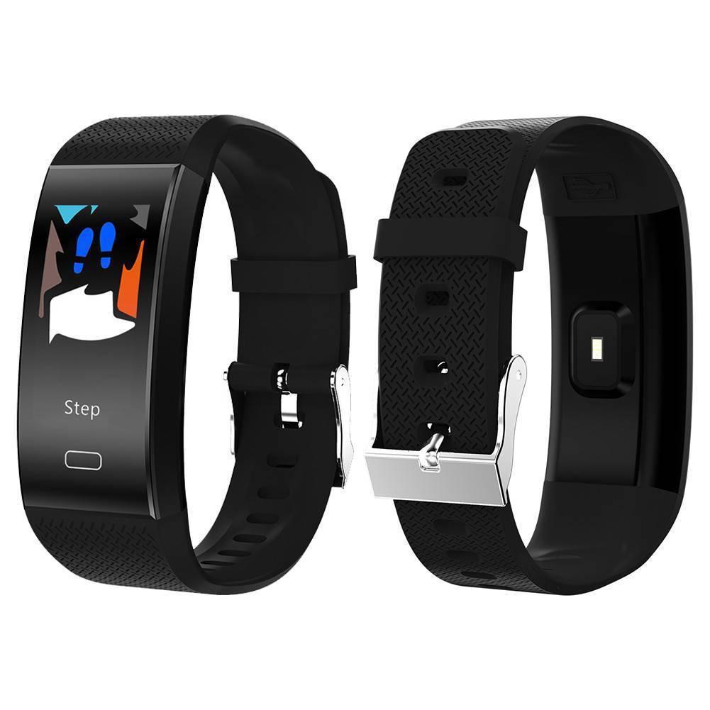 Bluetooth Monitor Di Frequenza Cardiaca Contapassi Fitness Tracker Intelligente Wristband Del Braccialetto Bluetooth Monitor Di Frequenza Cardiaca Contapassi