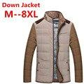 8XL 6XL 5XL 4XL Casual Ultralight Mens Duck Jackets Autumn & Winter Lightweight Down Jacket Men Overcoats free delivery