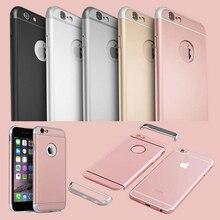 2018 Slim SHOCKPROOF Phone Case for iphone 8 7 6s plus coque Metal Aluminum Cove