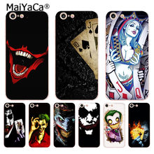 MaiYaCa poker joker Luxe Telefoon Case cover voor iphone 11 pro 8 7 66S Plus X 10 5S SE XR XS XS MAX(China)