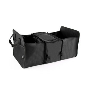 Image 3 - Oxford kumaş araba gövde bitirme paketi dayanıklı, çok amaçlı katlanabilir 3 ızgara araba saklama kutusu soğutucu kutu, 60x32x29cm