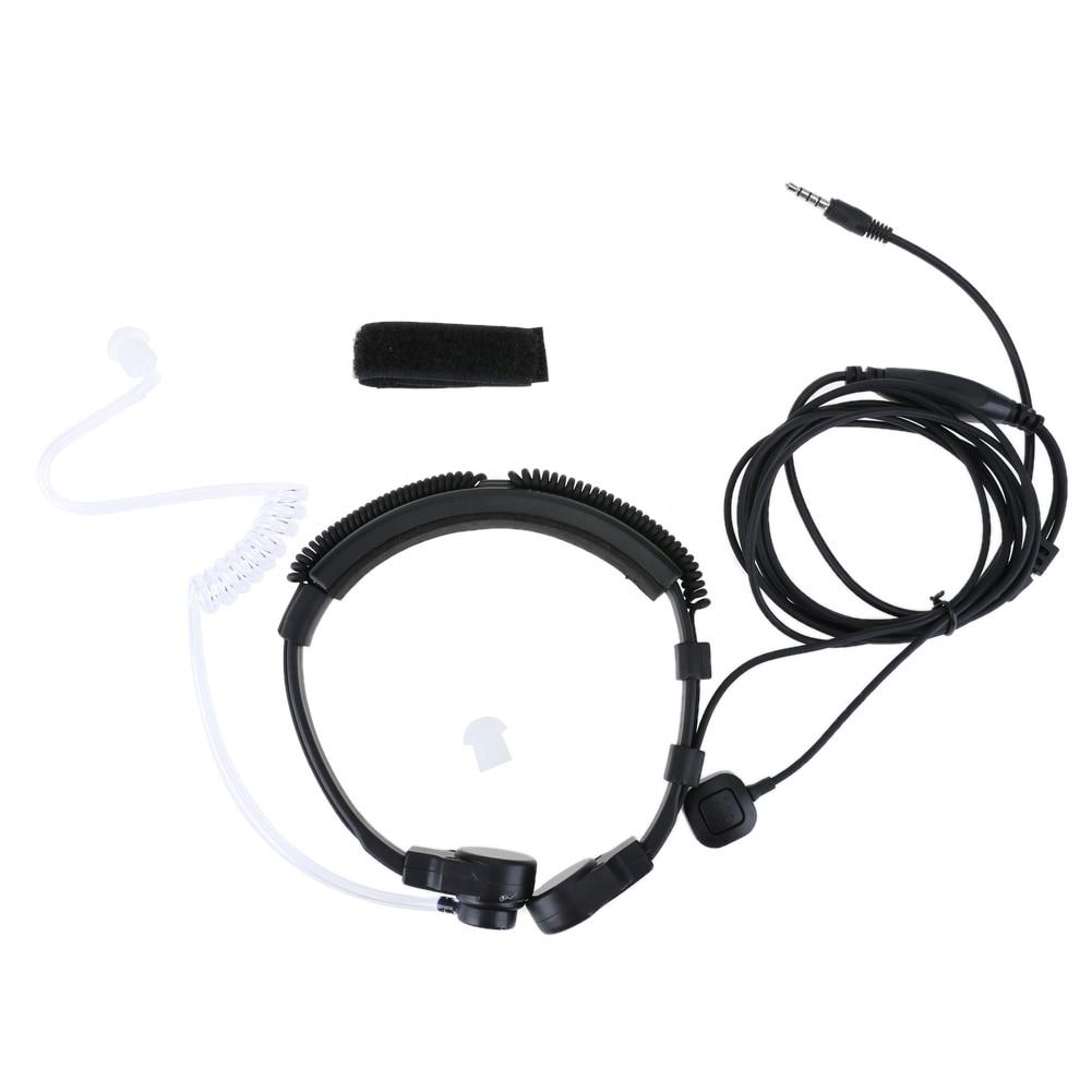 3 5mm wired anti radiation headphone earphone air tube throat headset earbud spiral headset for xiaomi iphone samsung mp3 phone [ 1001 x 1001 Pixel ]
