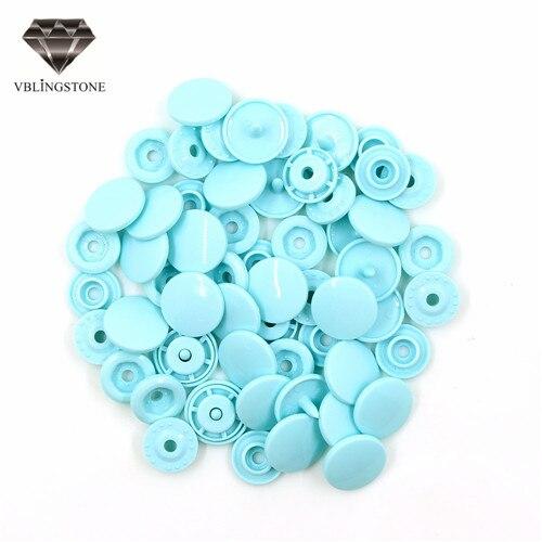 20 комплектов KAM T5 12 мм круглые пластиковые застежки кнопки застежки пододеяльник лист кнопка аксессуары для одежды для детской одежды Зажимы - Цвет: B59