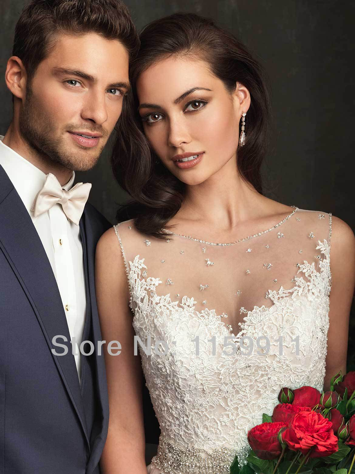 Champagne Wedding Dress Knee Length Dresses Nicole Miller Purple Long  Sleeved Ball Gown Floor Length Court Tr 2015 Free Shipping-in Wedding  Dresses from ... f471522ce465