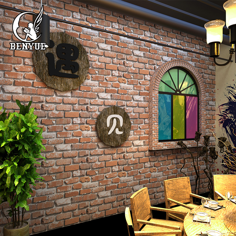 red brick wallpaper 3d background wall tv PVC vinyl wall paper roll Bedroom Living Room ackground Wall Art papel de parede beibehang chinese pvc deep embossed papel de parede 3d wall paper roll living room mural wallpaper for walls 3 d home decoration