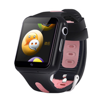 3G Children Tracker Smart Watch Waterproof Wifi GPS LBS Location HD Camera Bluetooth Play music tracking Adult child watch V5W
