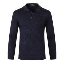TACE& SHARK Billionaire мужской свитер Новое поступление отложной воротник удобная одежда для отдыха M-5XL шерсть