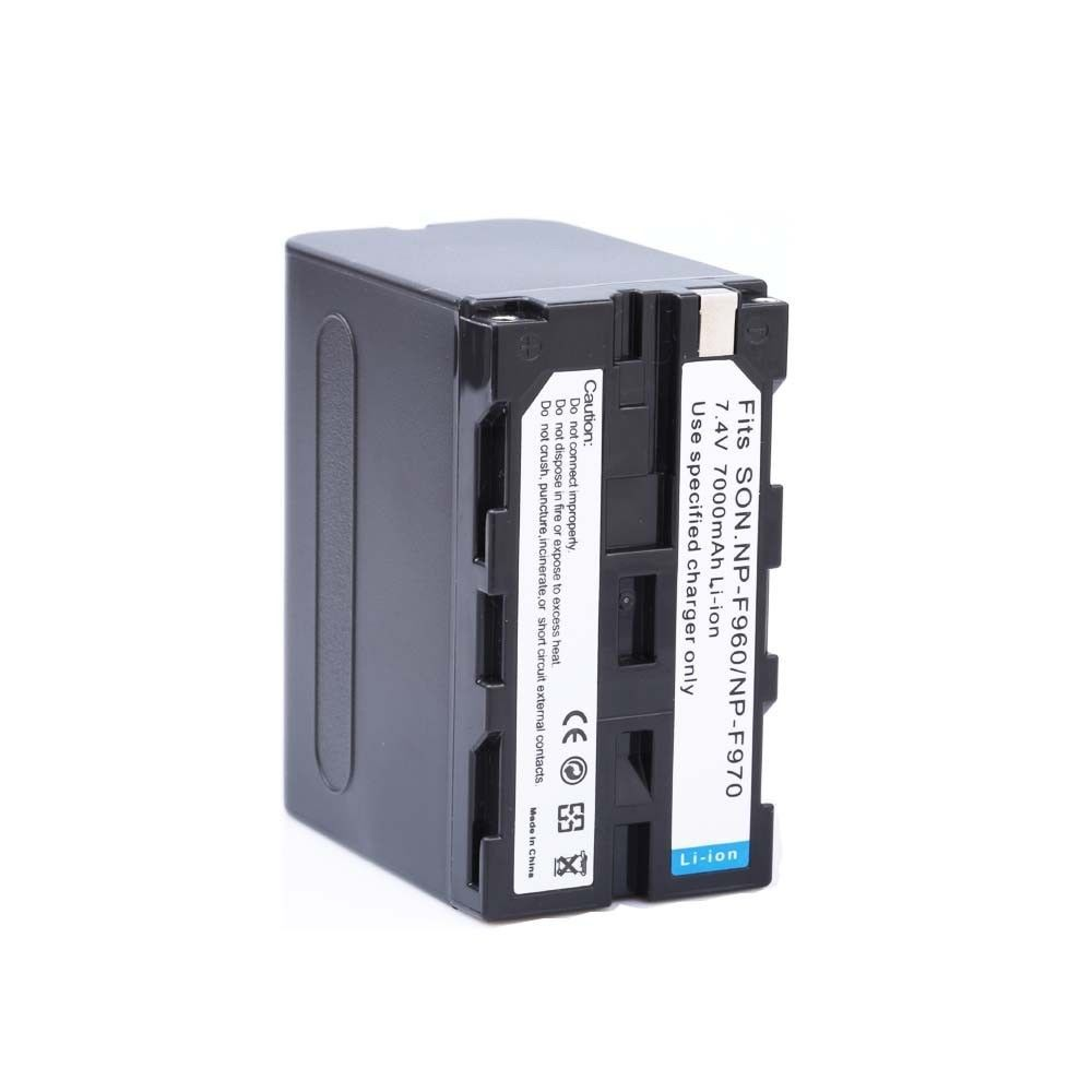 1* 7000mAh NP-F960 NP-F970 batteries / NP F960 battery For Sony NP-F550 NP-F770 NP-F750 F960 F970 free shipping