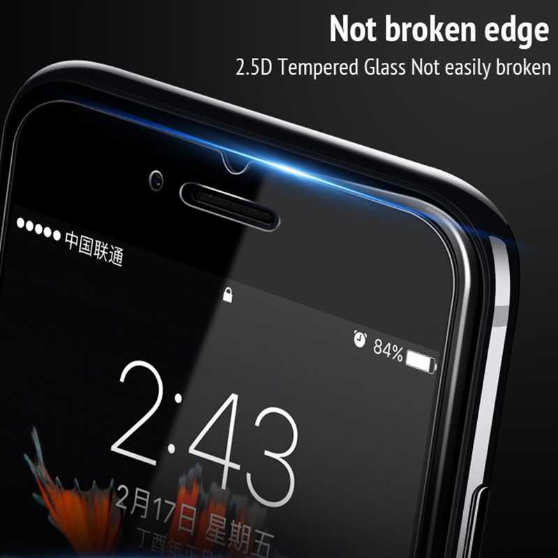 Nano szkło hartowane dla iphone XR X XS MAX 7 8 6 6s Plus 5 5S 5C SE 4 4S przedni klej na całości ekranu Protector folia ochronna