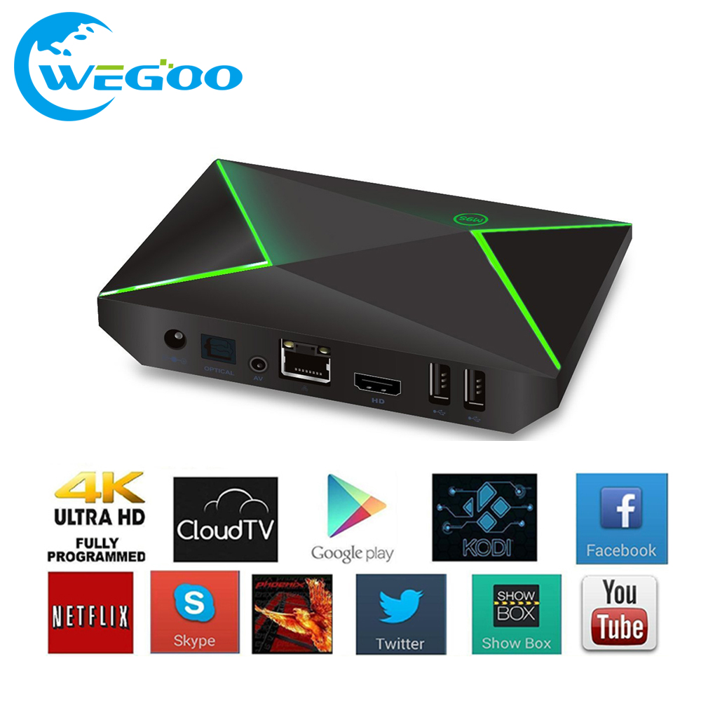 ФОТО 2017 NEW M9S Z8 Smart Android TV Box Android 6.0 S905X Quad-core UHD 4K 2G/8G Mini PC WiFi H.265 Media Player pk X92