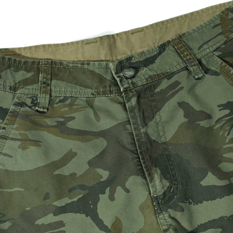 52cba4f7409d5e ... 2019 New Cargo Shorts Men Summer Cool Design Camouflage Casual Army  Military Fashion Shorts Homme Cotton ...