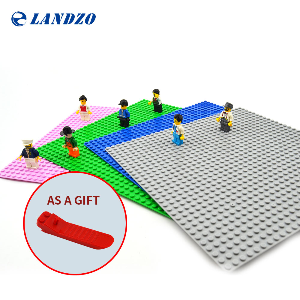 Base plate for Small Bricks Baseplates 32*32 Dots 10*10 DIY Building Blocks Toys base Compatible with major brand blocks 1pc 24 17 dots big building blocks baseplate 38 27cm bricks base plate compatible with duploe kids diy toys