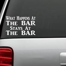 Funny Bartender Decal Sticker Car Truck Beer Bar Pub Wine Fashion Personality Creative Classic