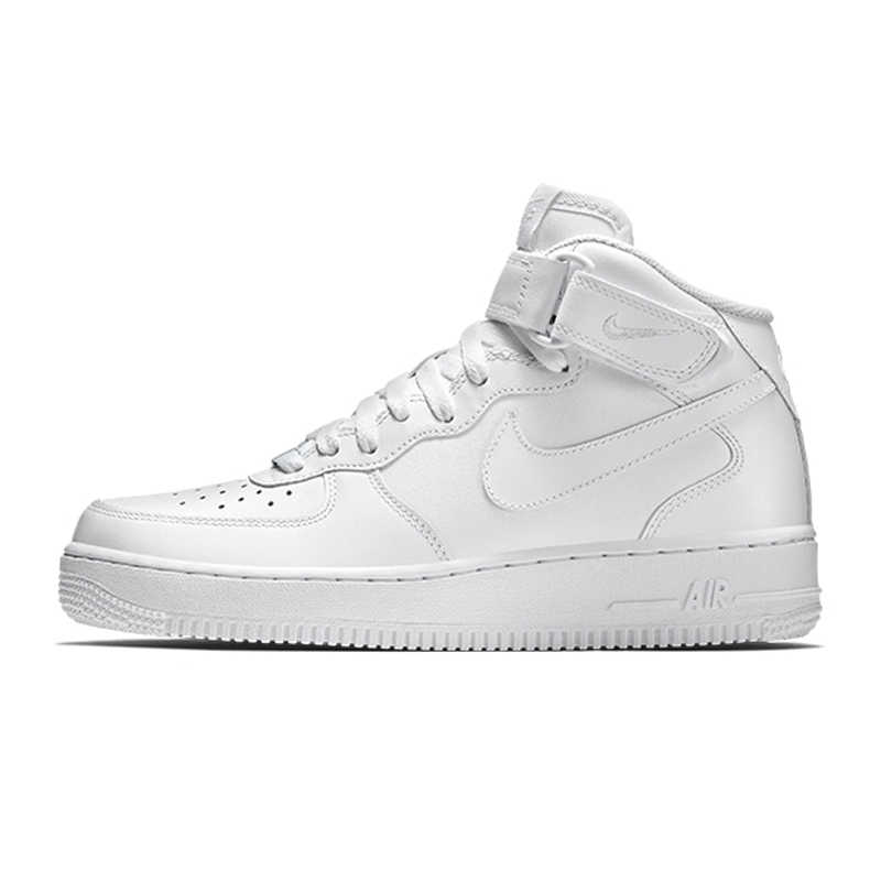 ... Nike Air Force 1 AF1 Original Official Breathable Men s Skateboarding  Shoes Sports Sneakers Classique High Flat be4d2db51