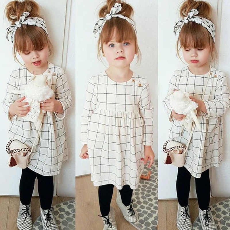 92142406da42b Detail Feedback Questions about Girls Spring Dress 2019 Children ...
