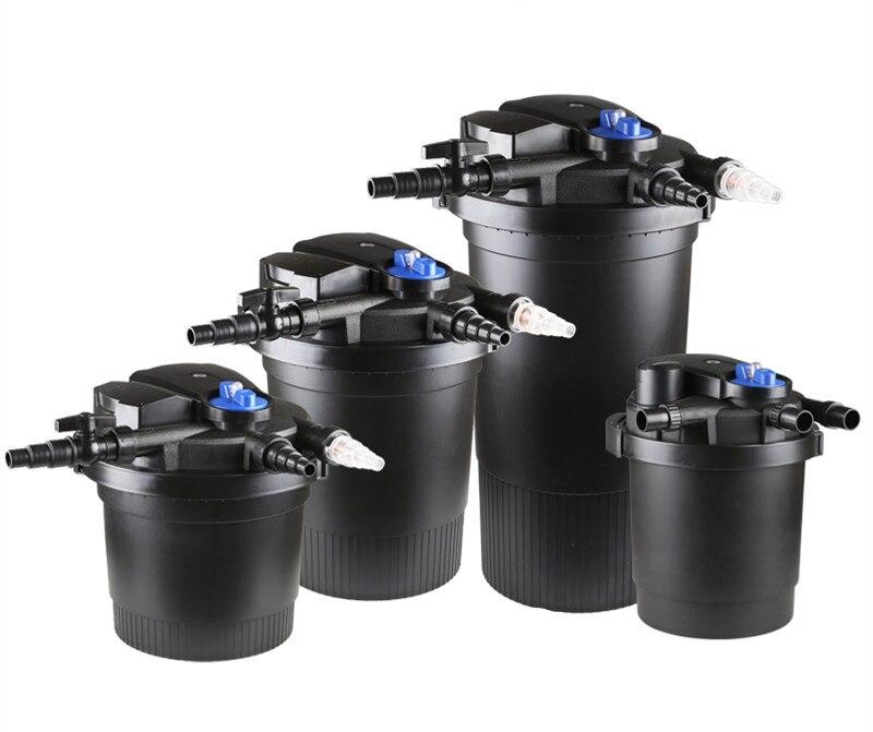 CPF2500 CPF5000 CPF10000 CPF15000 CPF20000 CPF30000 CPF50000 teich schwimmbad filter bio druck UV filter Farm wasser purifi-in Filter & Zubehör aus Heim und Garten bei  Gruppe 1