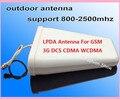 800-2500 Mhz 10dBi 2G 3G/GSM CDMA Antena externa N Fêmea adaptador para Telefone Celular Reforço de sinal Repetidor Amplificador