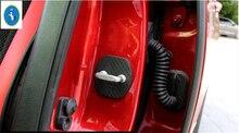 Protector For INFINITI Q50 QX50 QX60 Plastic New Style Car Door Lock Cover Trim 4 Pcs For 4 Door