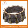 Clutch Friction Plates Disc Set 9pcs For YAMAHA WR426F YZ426F 2001 2002 FZ1 10-11 FZS1000 FAZER 06 07 08 09 10 11 12 13 14 15 16
