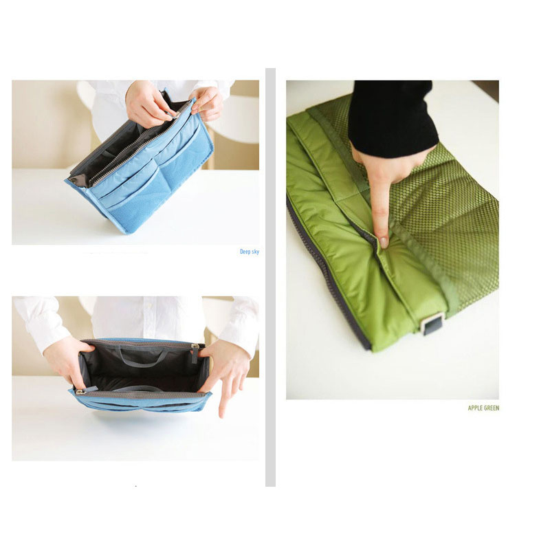 Large cosmetic bag travel portable storage bag portable card bag mobile phone small object storage bag in Cosmetic Bags Cases from Luggage Bags