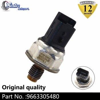 XUAN 9663305480 Yakıt Dağıtım Borusu basınç regülatörü Sensörü Common Rail Için PEUGEOT Uzman II CITROEN Jumpy II 2.0 HDi 2.0HDi