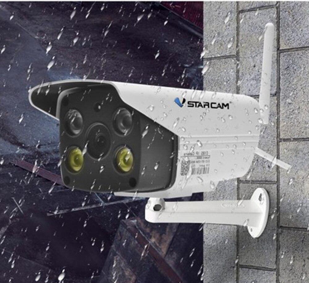 Vstarcam wifi IP Camera HD 1080P security Waterproof Outdoor full color night vision Security Infrared Bulllet Camera p2p c18s